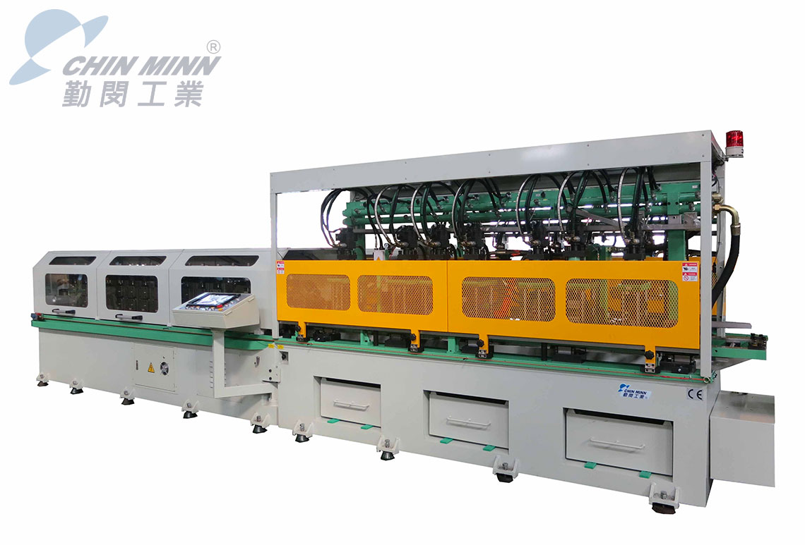 CE multiple hole punching roll forming machine