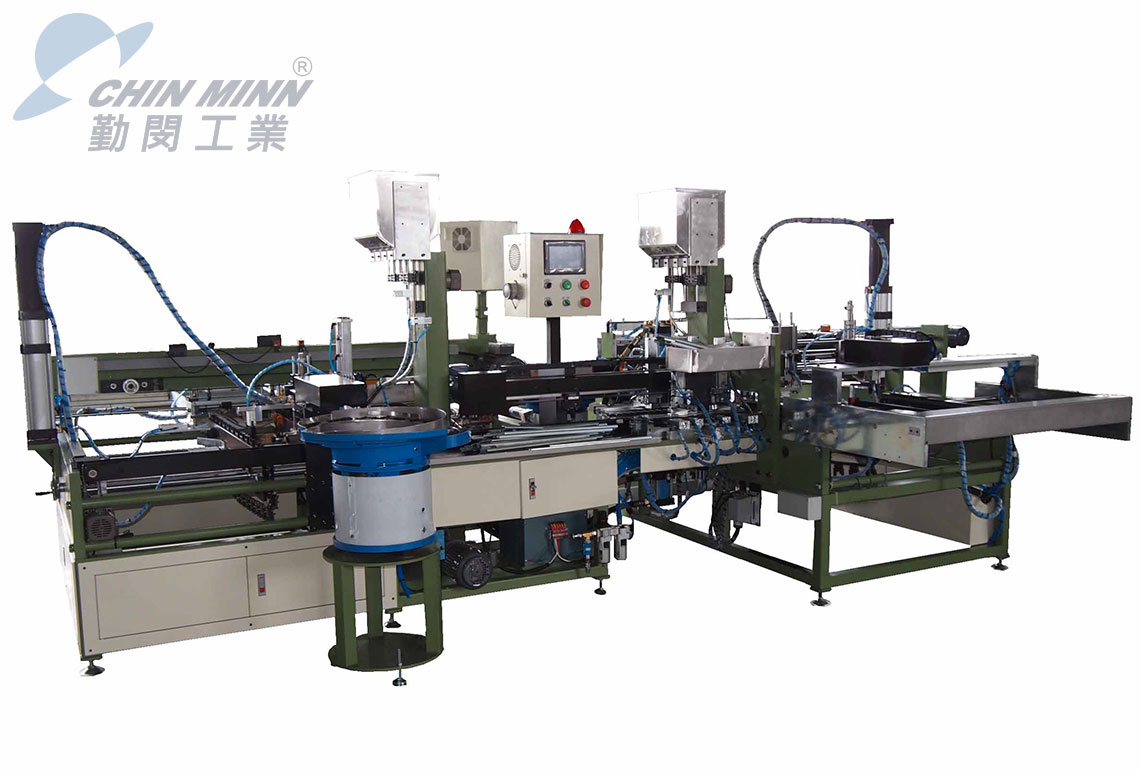 automatic drawer slides assembly machine
