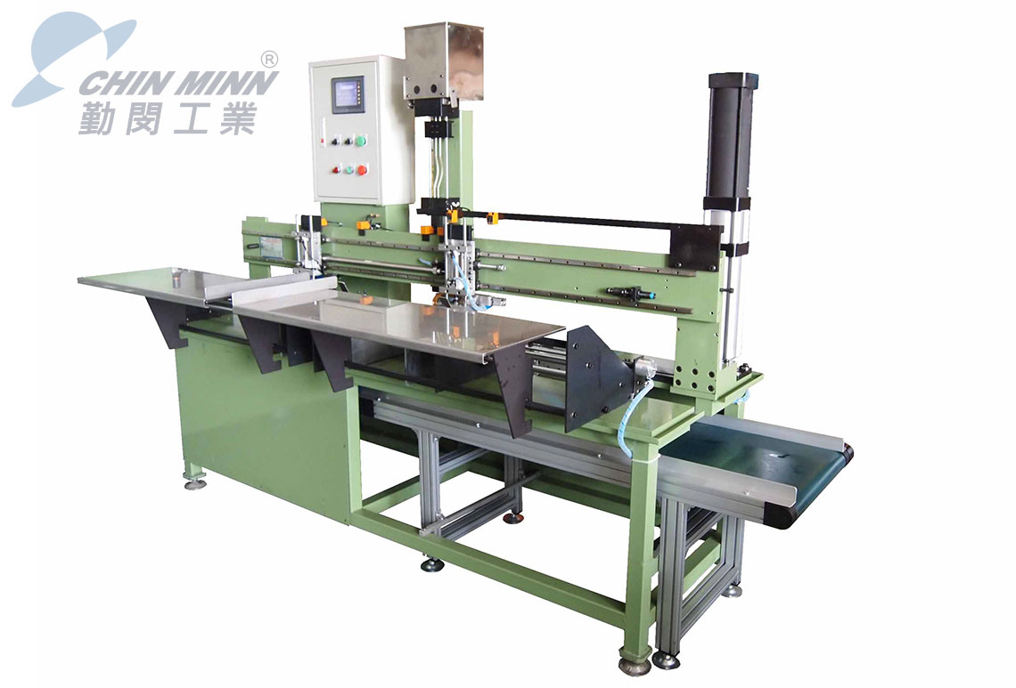 semi automatic drawer channel assembly machine